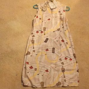 Chinese dress size 8.  Made in Hawaii